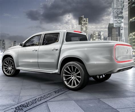 Mercedes X Class Truck Price by Future Mercedes X Class Unveiled In A Form Of Two Concept