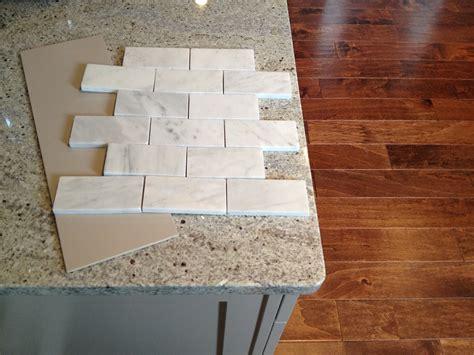 marble tile backsplash kitchen loft cottage marble backsplash preview