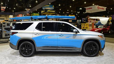 2018 Chevy Traverse Concept by Chevrolet Traverse Sup Concept Sema 2017 Photo Gallery