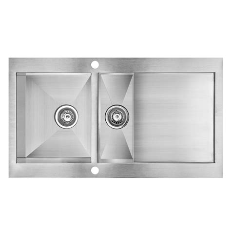 cooke and lewis kitchen sinks cooke lewis unik 1 5 bowl stainless steel kitchen sink