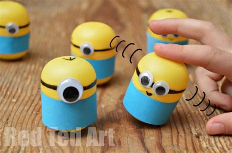 minion craft projects minion craft ideas weebles from kindersurprise eggs