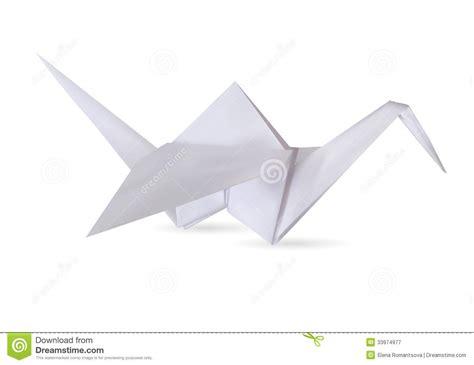 stork origami stork royalty free stock photography image 33974977