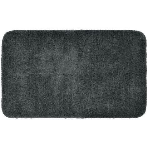 gray bathroom rugs gray bathroom rugs gray jersey shag bath mat world