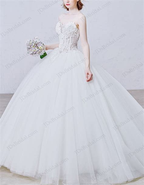 fully beaded bodice wedding dress is008 illusion beaded florals bodice gown