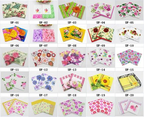 patterned tissue paper decoupage aliexpress buy rainloong wholesale flower printed