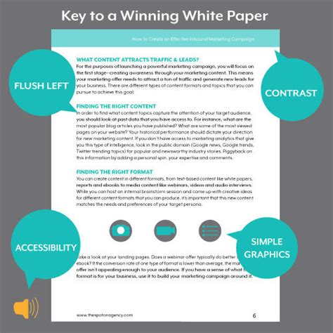 white paper format for content campaigns