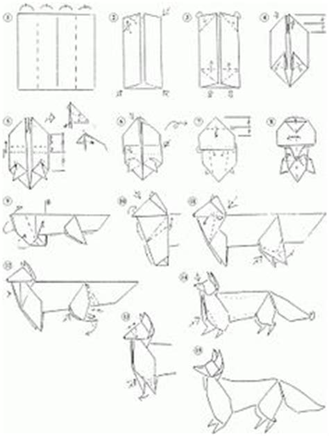 origami wolf step by step origami on 52 pins