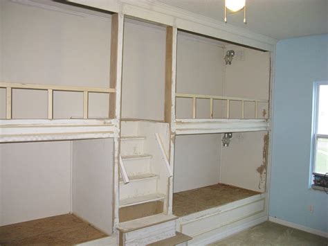 built in bunk beds by brianarice lumberjocks