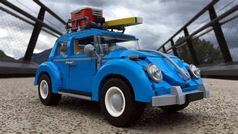 Lego Volkswagen Beetle by J Ai Test 233 Pour Vous Lego Creator Expert 10252