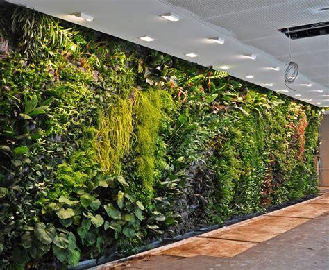indoor wall garden fronius headquarters wels austria vertical garden