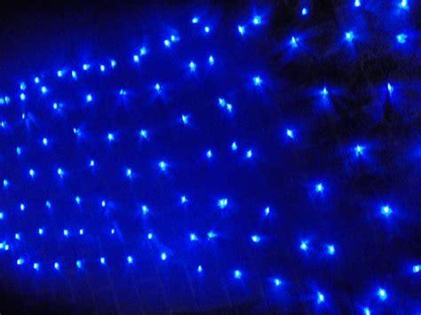 blue led net lights blue led net light
