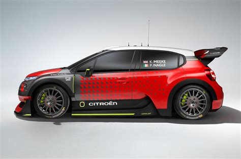 Citroen Rally Car by 2017 Citro 235 N C3 Wrc Concept Will Spawn St