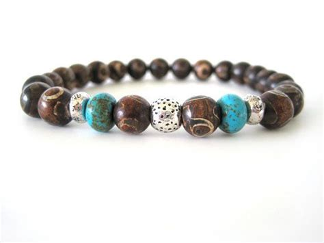mens beaded bracelet patterns s stretch bracelet with mongolian agate