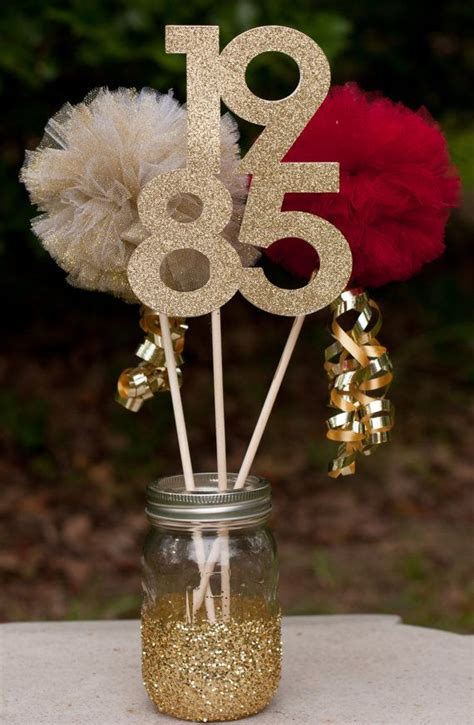 centerpieces ideas for birthday 1000 ideas about 50th birthday centerpieces on