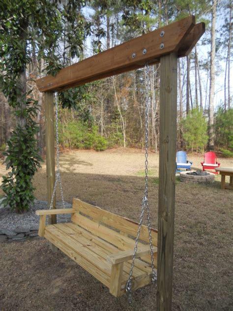 diy backyard swing 20 diy backyard ideas on a small budget the in