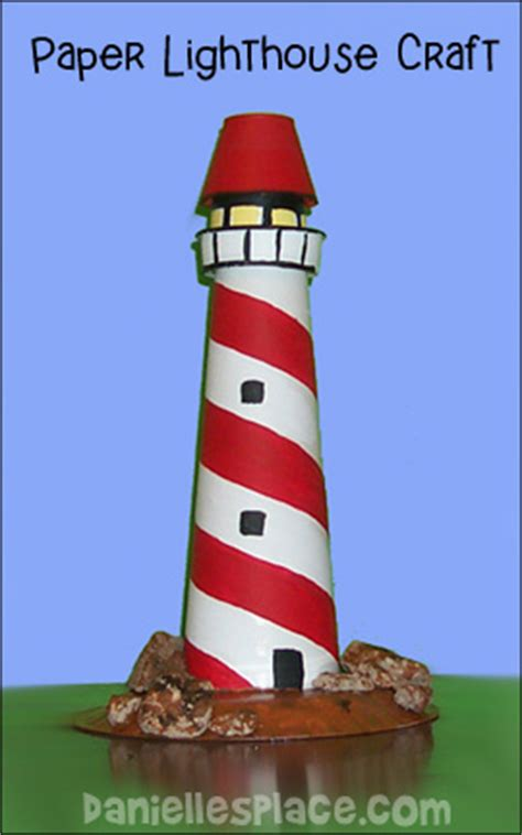lighthouse craft project lighthouse crafts and learning activities