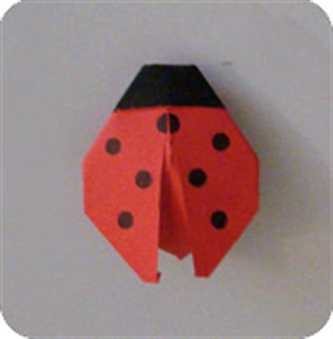 origami ladybug easy origami ladybug make origami