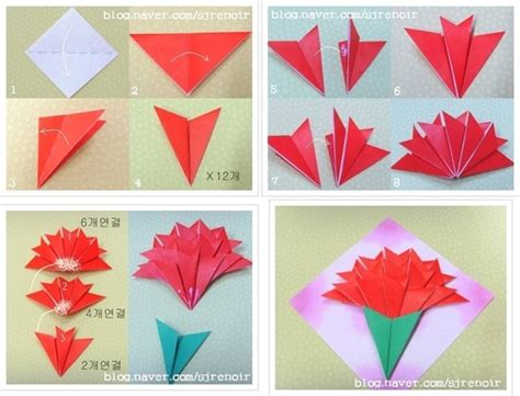how to make origami flower bouquet step by step origami and carnation flower image on we it