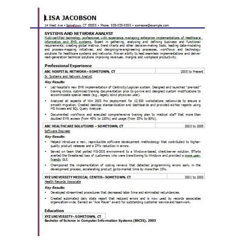 resume template word 2007 ten great free resume templates microsoft word download links