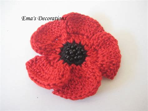 how to knit a poppy flower best 25 crochet poppy ideas on crochet poppy