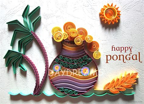 how to make a pongal greeting card pongal greetings 10