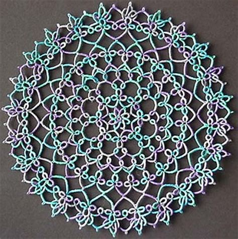 tatting with patterns free tatting patterns for doilies new patterns