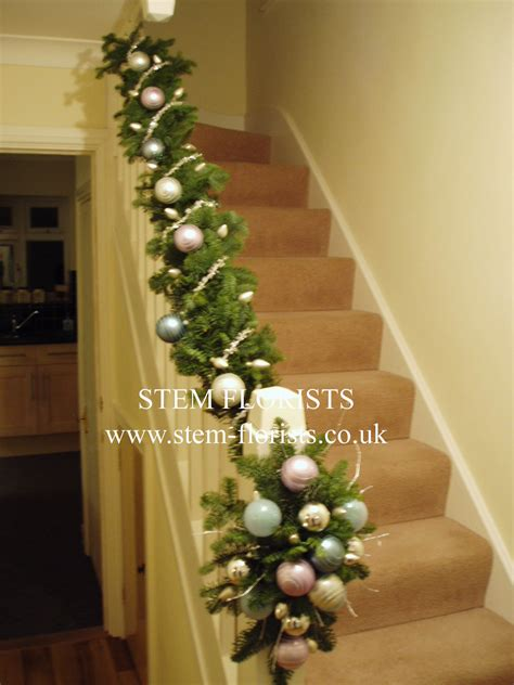 stairway garland garland for the staircase crafting products ideas gifts
