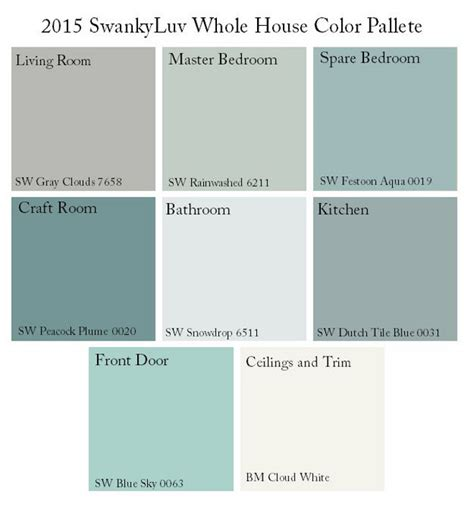 color palette for home interiors home paint color ideas with pictures home bunch interior
