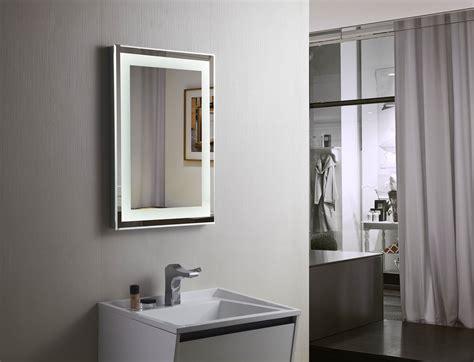 lighted vanity mirrors for bathroom budapest lighted vanity mirror led bathroom mirror
