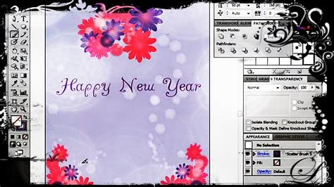 how to make card in photoshop how to create a greeting card in adobe illustrator