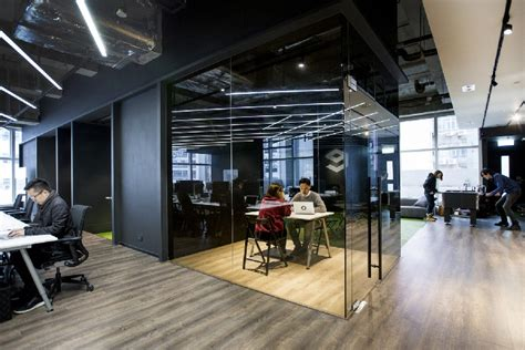 creative office design hong kong warehouse converted to creative office space