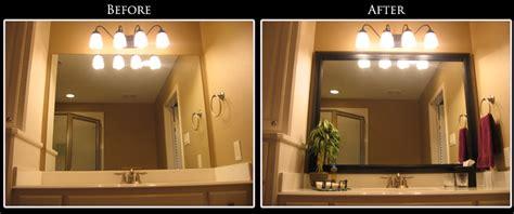 framing your bathroom mirror framing bathroom mirror ideas decor ideasdecor ideas