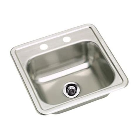 elkay neptune top mount stainless steel 15 in 2