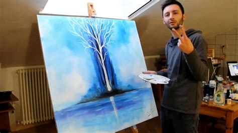 glow in the painting tree speed paint tree glow in the by crisco