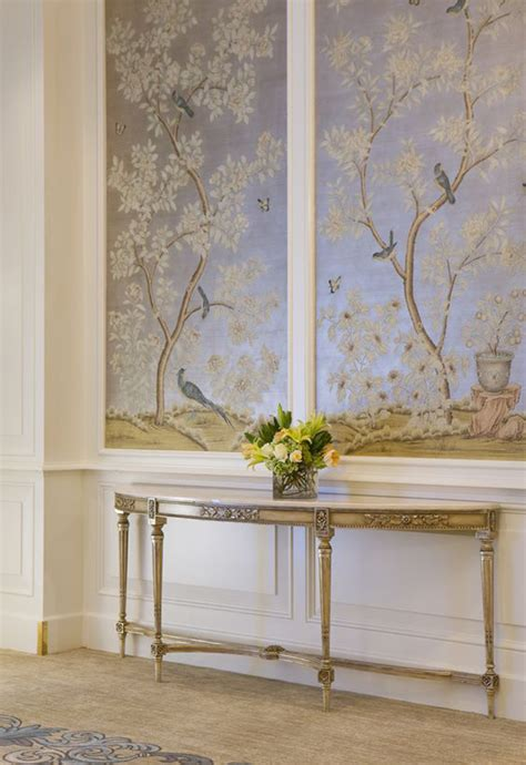 Cheap Wall Murals Uk hand painted amp chinoiserie wall panels this is glamorous