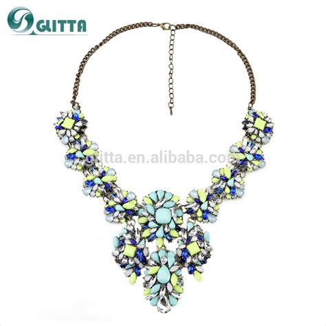 how to make high end jewelry high end fashion jewelry necklace bohemian handmade resin