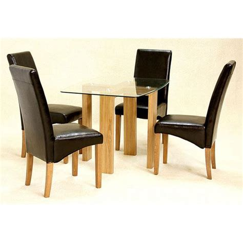 houseofaura leather dining table chairs ashbourne