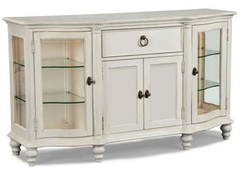 credenza glass doors glen cove dining credenza with glass door display cabinets
