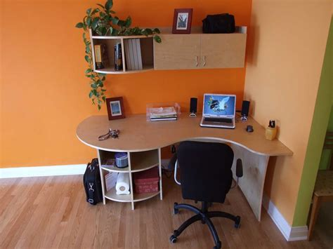 home built computer desk built in office desk for wonderful office look my office