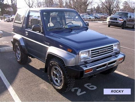 Daihatsu Rocky Review by Daihatsu Rocky 20 Dx Wagon Picture 5 Reviews News