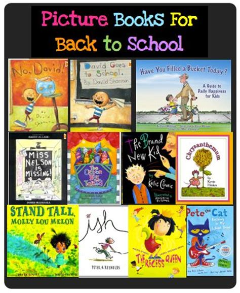 back to school picture books great picture books for back to school back to school