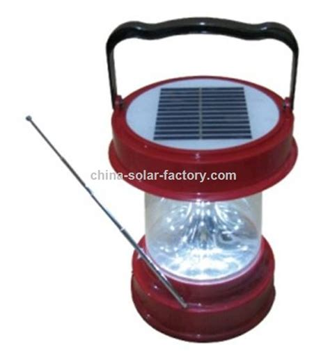 solar portable light promotional solar portable light with radio suppliers