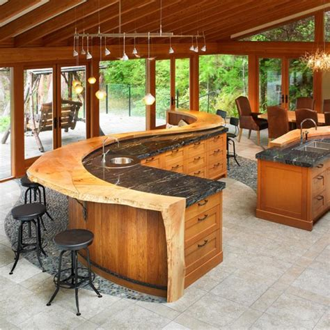 granite kitchen island ideas amazing wood kitchen countertop ideas adding look