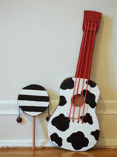instrument crafts for 14 diy musical instruments diy toys kid activities and