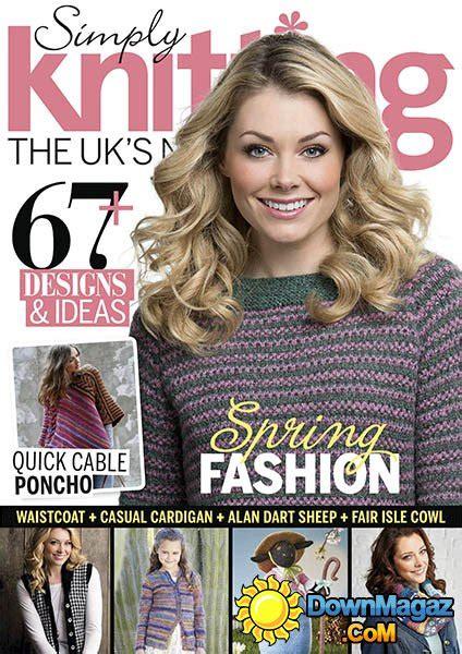 simply knitting simply knitting april 2015 187 pdf magazines