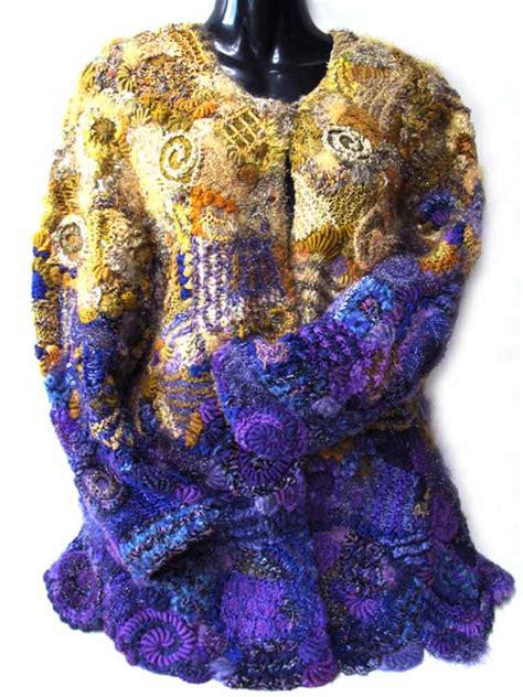freeform knitting freeform garments knot just knitting