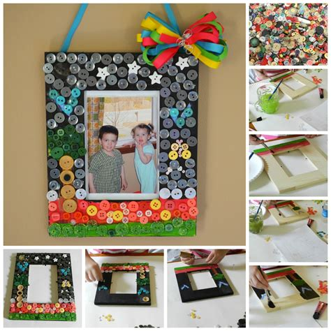 photo frame crafts for sewing and crafting with summer craft for diy