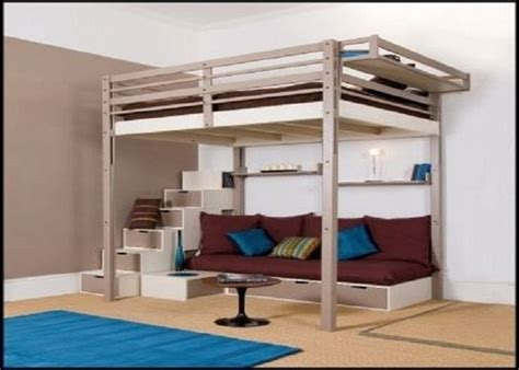 loft bed frame for adults best 25 loft beds ideas on