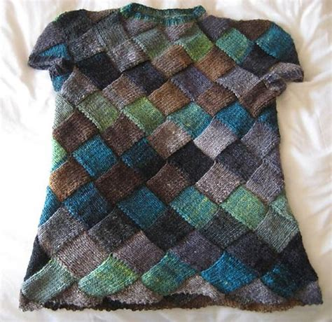 entrelac knitting patterns sweater the world s catalog of ideas