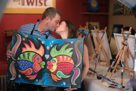 paint with a twist couples visit our cozy and charming studio today picture of